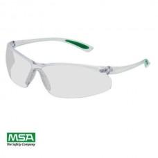 Atsparūs įbrėžimams apsauginiai akiniai MSA CLEAR