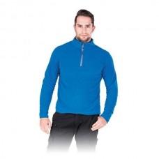 Šviesiai mėlynas flisinis džemperis POLMENKS