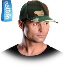 Kamufliažinė kepurė su snapeliu CZFOREST