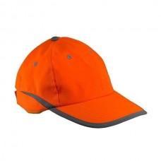 Signalinė kepurė su snapeliu URG-HV orange