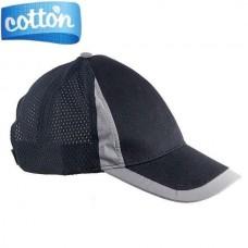 Kepurė su tinkleliu juoda URG-MESH-TOP black