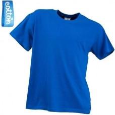 Kasdieniniai marškinėliai trumpomis rankovėmis T-SHIRT blue royal